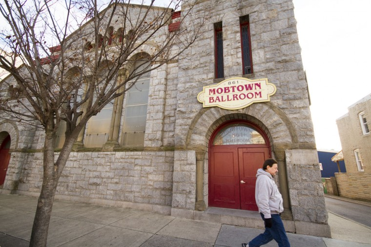 Dec. 2014: Mobtown Ballroom, a renowned swing and salsa dancing venue. Kalani Gordon/Baltimore Sun