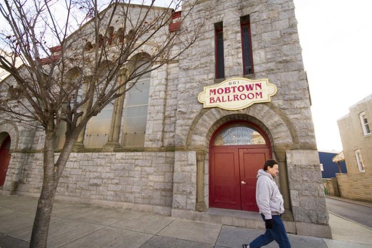 Dec. 2014: Mobtown Ballroom, a renowned swing and salsa dancing venue. Kalani Gordon/Baltimore Sun