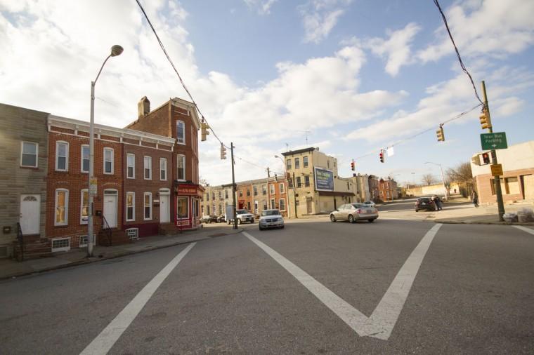 Dec. 2014: Scenes from Pigtown/Washington Village in Southwest Baltimore. Kalani Gordon/Baltimore Sun