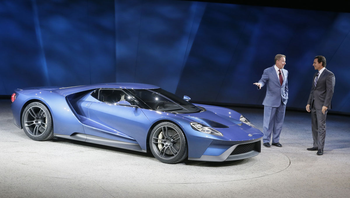 2015 north american international auto show in detroit - 2015 Ford Gt Auto Show