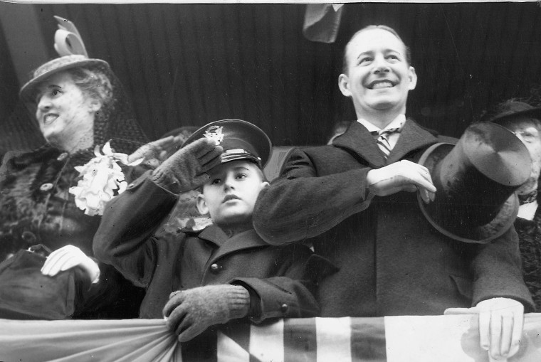 Herbert R. O'Conor's 1939 inauguration. (Baltimore Sun file photo)