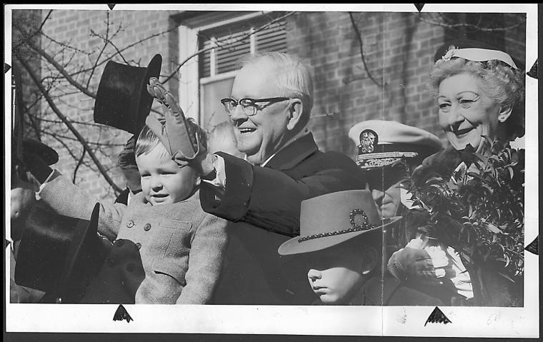 J. Millard Tawes 1959 inauguration. (Baltimore Sun file photo)