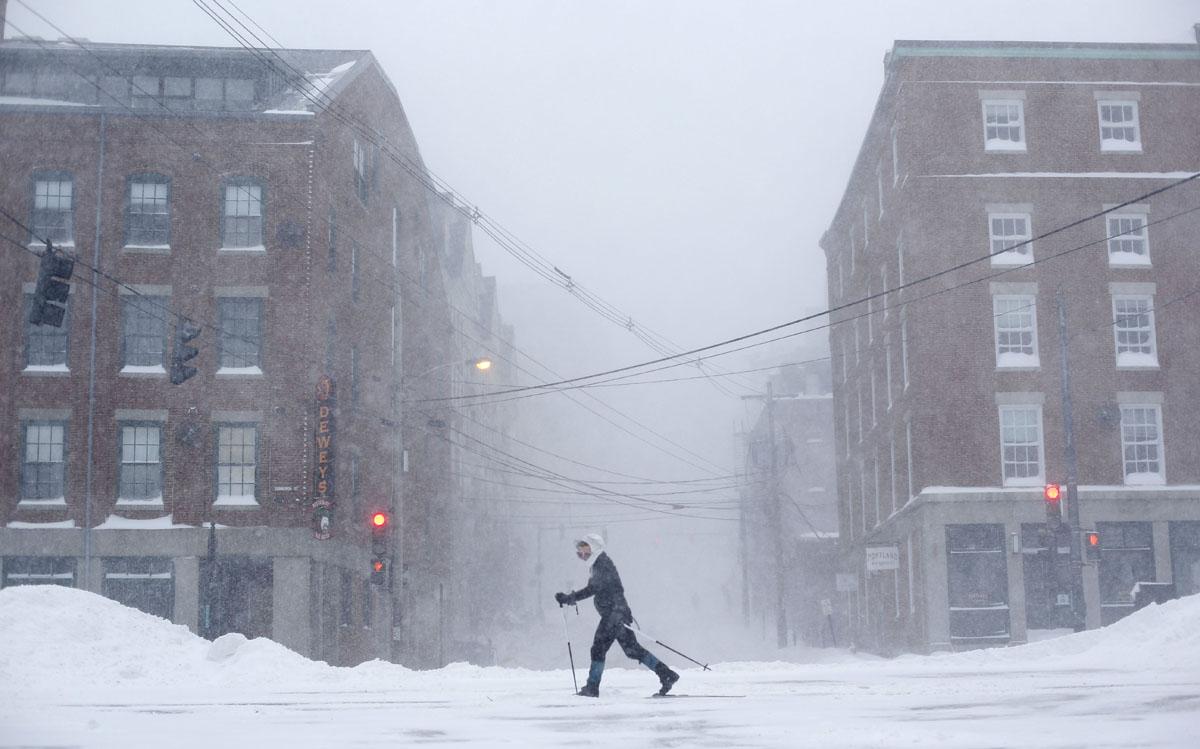 Weather Portland Maine : Winter weather