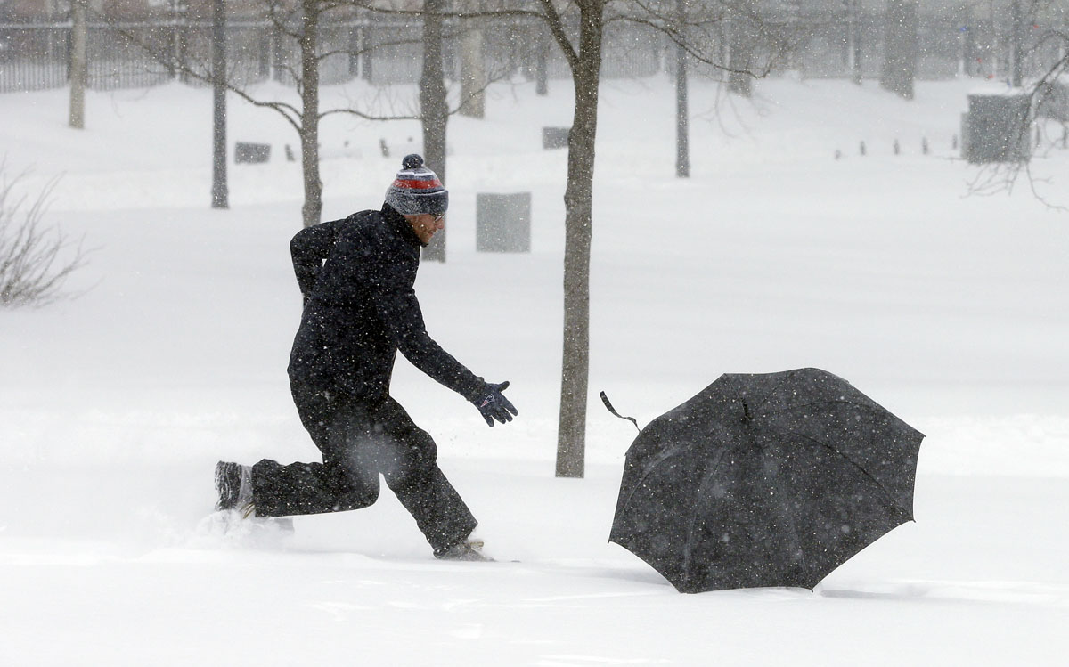Here's how much snowy weather the Northeast saw
