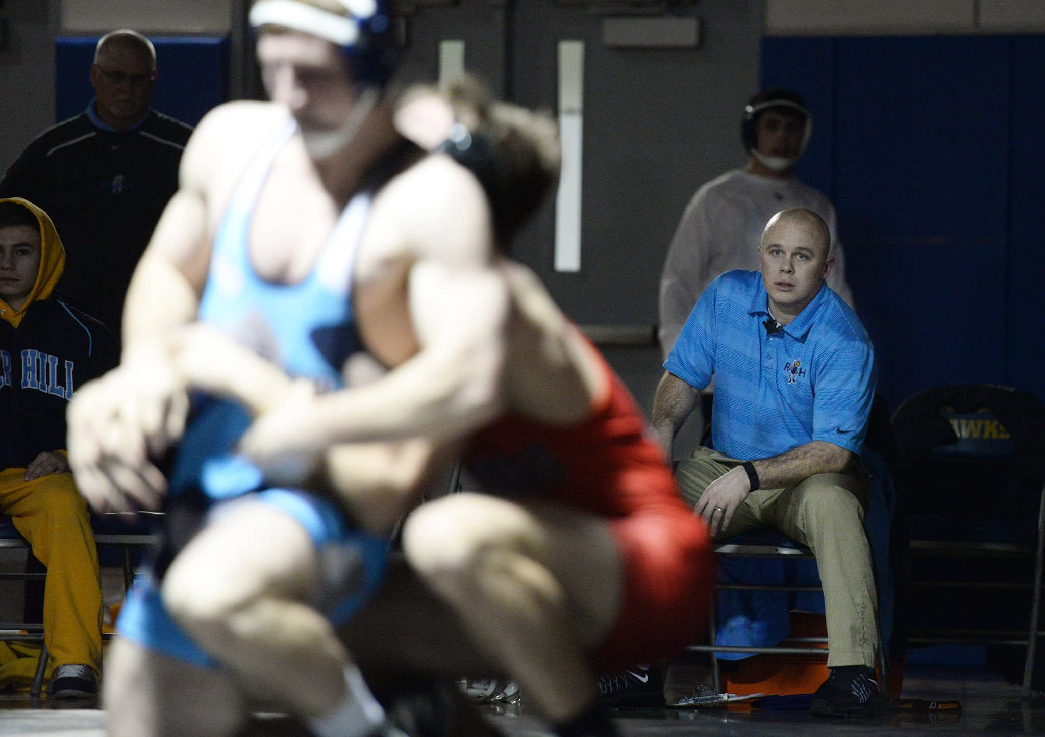 River Hill wrestling, all-access