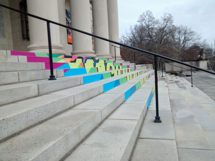 I prefer this angle of the BMA stairs, the other angle has been overdone.