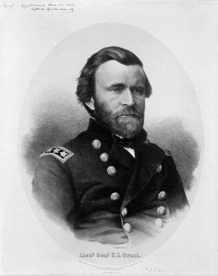 Lieut. Genl. U.S. Grant / lith. by A. Hoen & Co. Balto. -- c1864  --  Print shows Ulysses S. Grant, head-and-shoulders portrait, facing right, wearing military uniform. (A. Hoen & Co./Library of Congress)