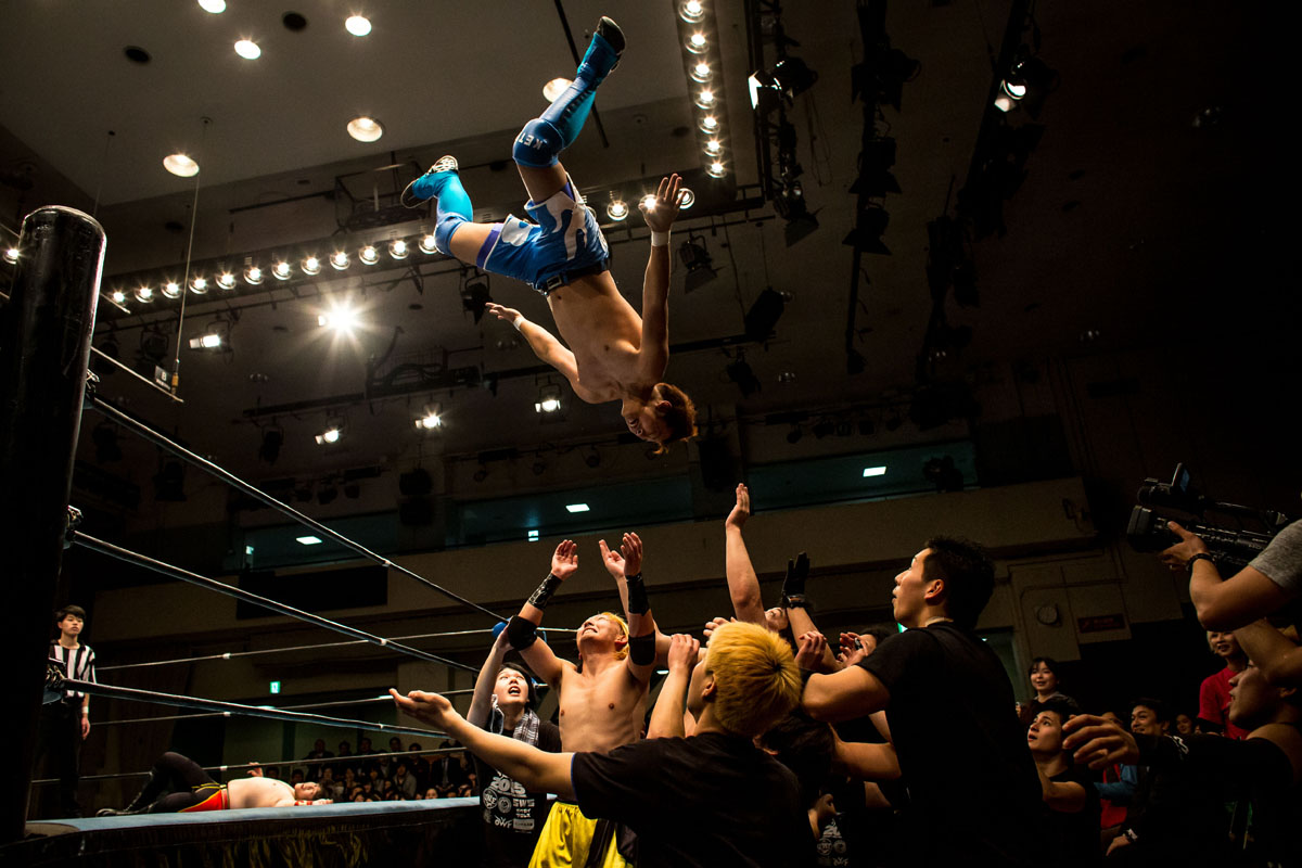 Student Pro-Wrestling Summit in Tokyo, Japan
