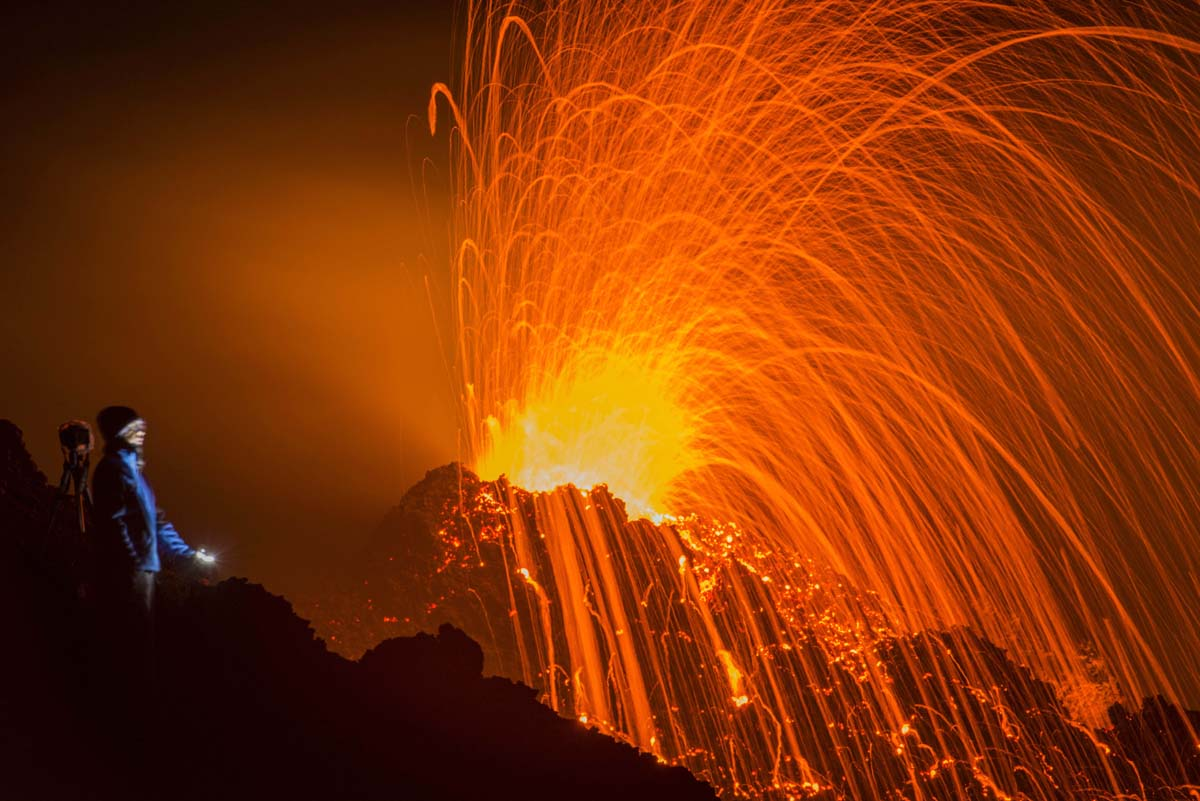 An island erupts, an elephant gets a snack, a prime minister resigns | Feb. 6