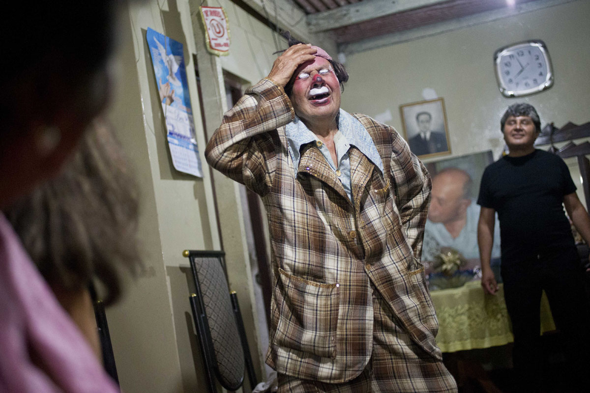 Meet Pitito, Peru's oldest clown