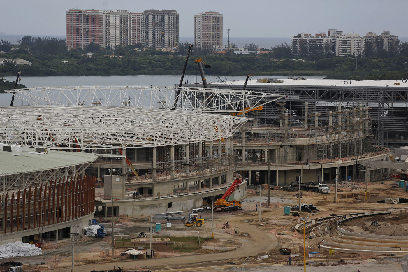 Rio 2016: Building an Olympic village