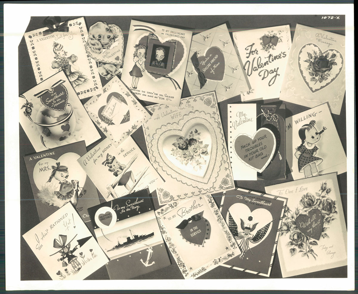 From the vault: Vintage Valentine's cards