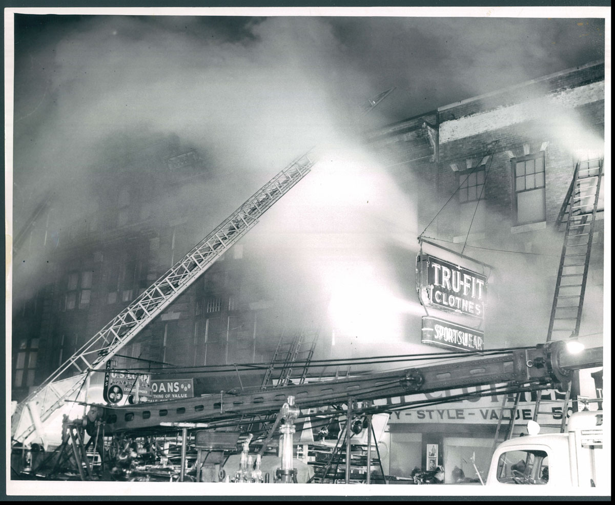 From the vault: Tru-Fit fire on East Baltimore Street