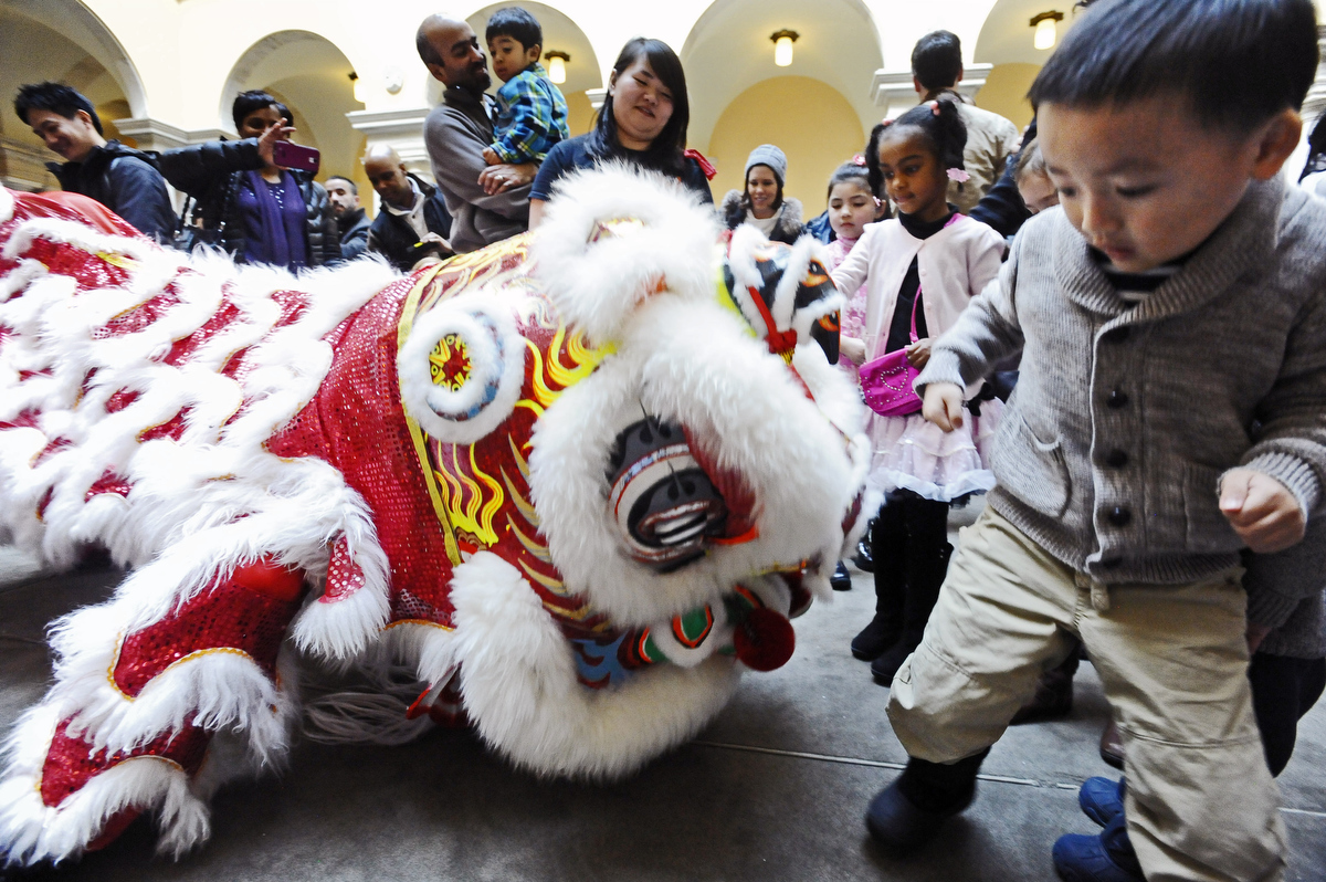 Chinese New Year at the Walters Art Museum