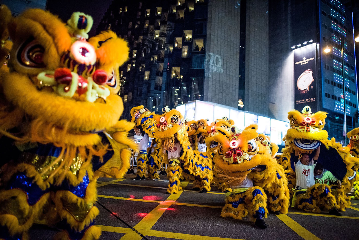 At The 2015 Cathay Pacific International Chinese New Year Night Parade