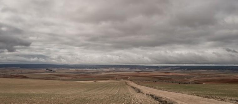 The landscape near the village of Tordesilos on Feb. 26 near Molina de Aragon, Spain. (David Ramos/Getty Images)