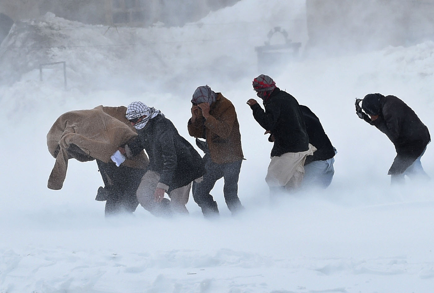 Afghan avalanche recovery