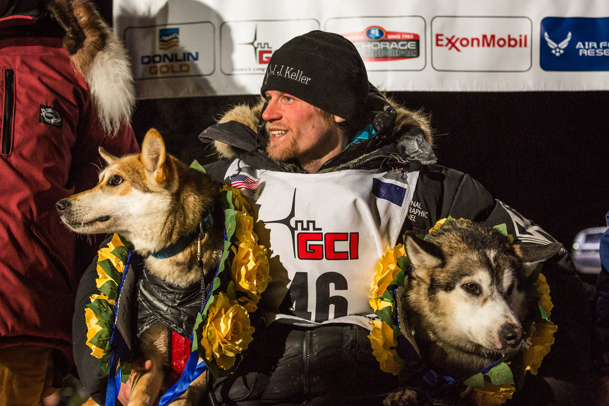 Dallas Seavey wins his third Iditarod