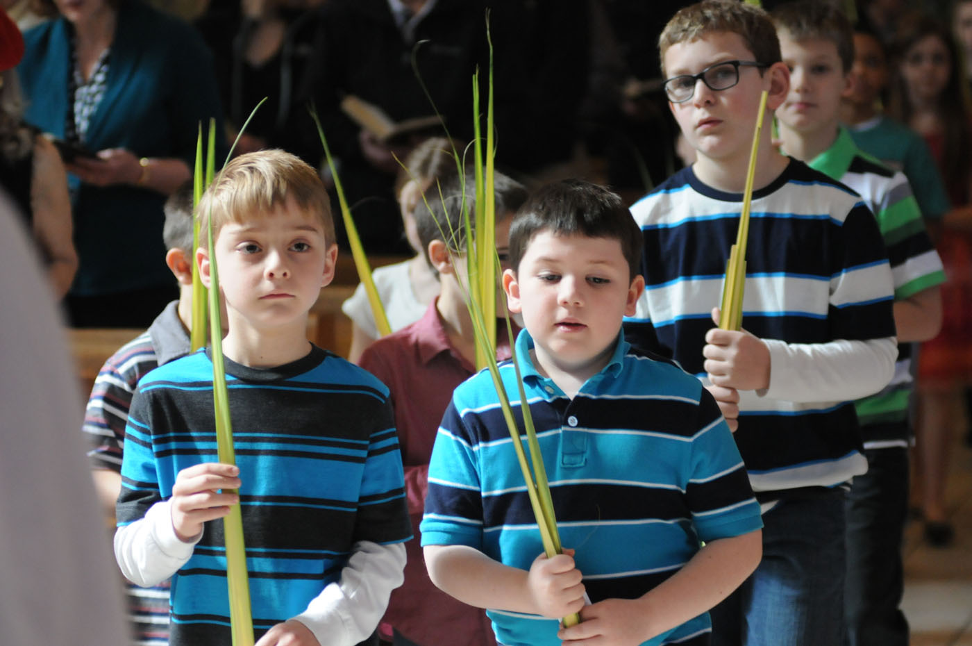 how to explain palm sunday to a child