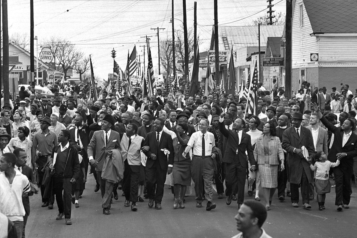 selma march But nothing prepared holmes for the terror she would face in 1965, when she  went to alabama for the voting rights march from selma to.