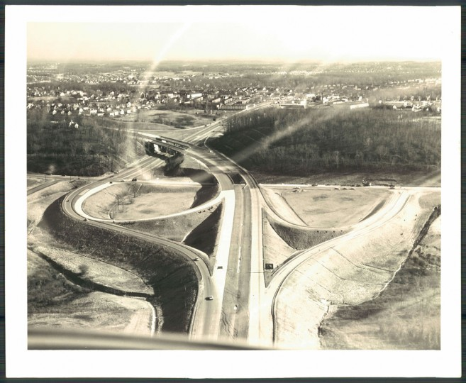 Baltimore County Beltway (Baltimore Sun, June 28, 1962)