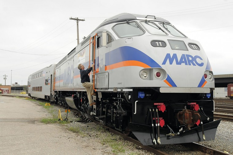The preferred option for many commuters between Baltimore and various destinations south, including Washington, the MTA's MARC train service launched on weekdays in 1983 and began offering weekend service for the first time at the end of 2013. Its Penn Line connects Perryville to Baltimore and Washington, its Camden Line connects Baltimore to Washington, and its Brunswick Line connects Frederick and Martinsburg, W. Va., to Washington. Ridership across all lines in fiscal 2014 stood at about 9.1 million, slightly up from about 9 million the year prior.--Kevin Rector (Karl Merton Ferron/Baltimore Sun)