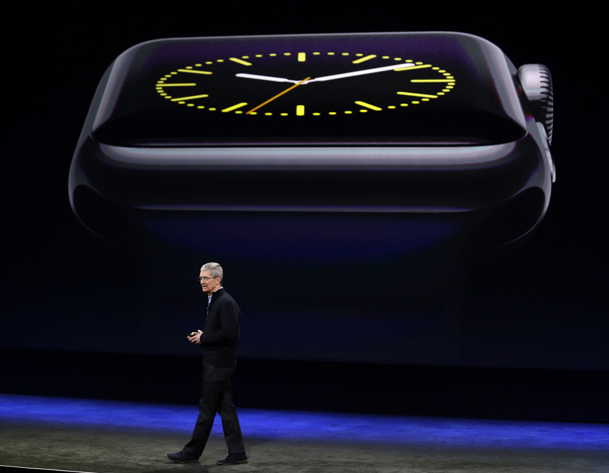 Apple Watch unveiled in San Francisco