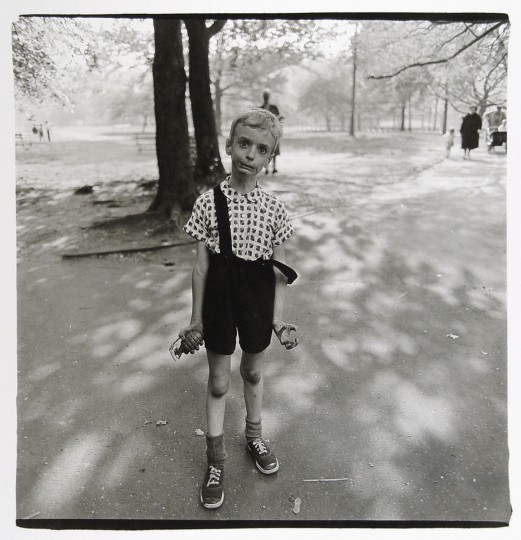 Child with Toy Hand Grenade, 1962 (Diane Arbus)