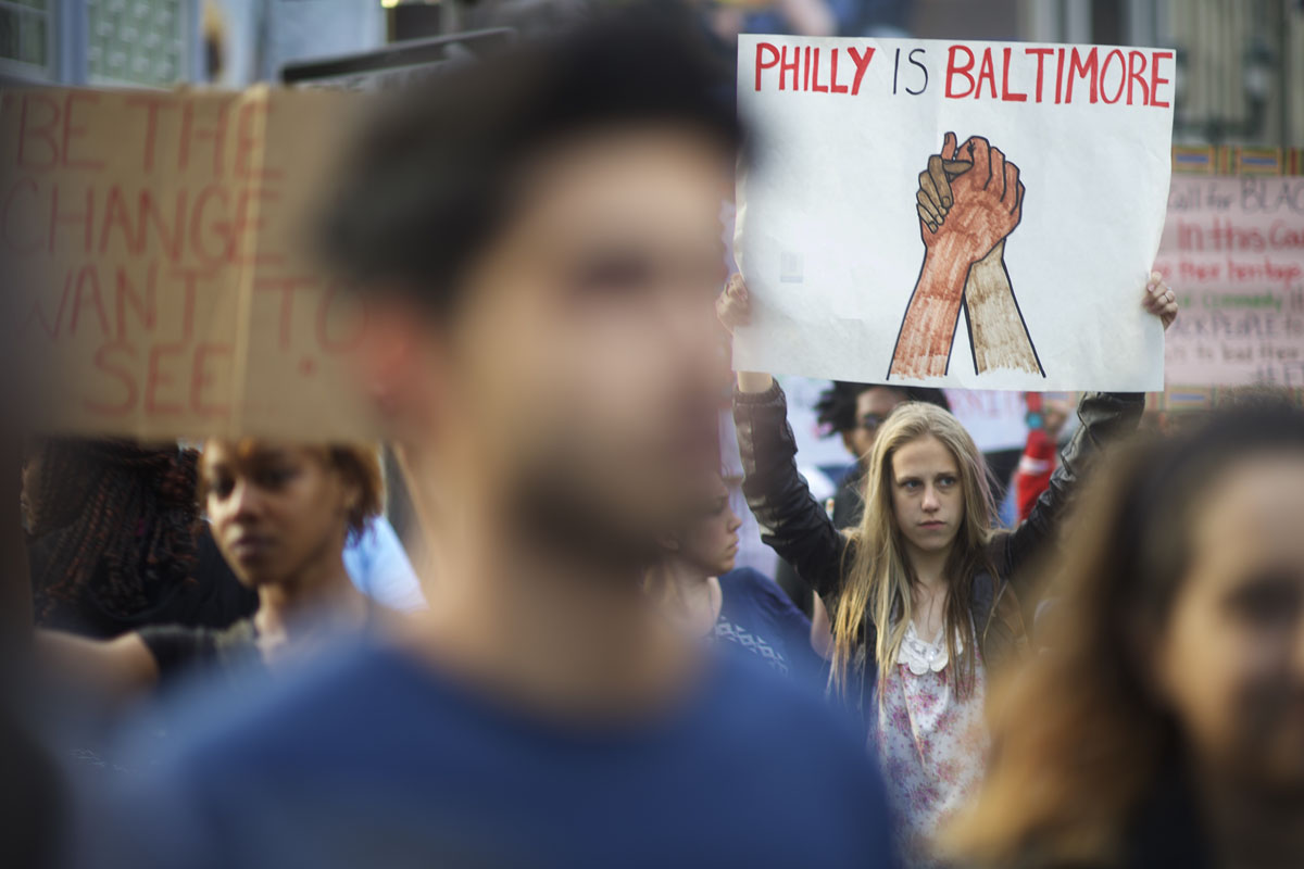 Nationwide protests for Freddie Gray