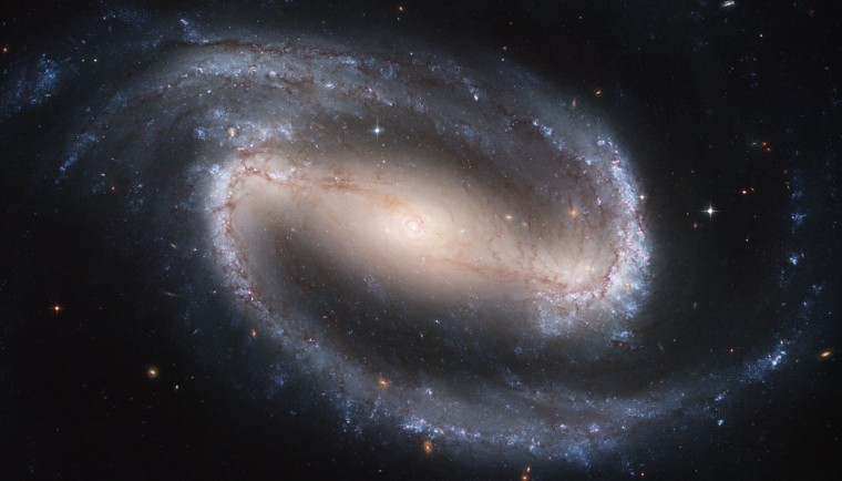 Hubble Space Telescope image shows the barred spiral galaxy NGC 1300. (NASA/ESA, Hubble Heritage Team STScI/AURA via AP) Hubble Space Telescope image shows the barred spiral galaxy NGC 1300. (NASA/ESA, Hubble Heritage Team STScI/AURA via AP)