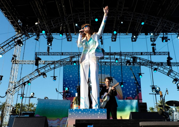 Singer-songwriter Jenny Lewis performs onstage during day 3 of the 2015 Coachella Valley Music & Arts Festival (Weekend 1) at the Empire Polo Club on April 12, 2015 in Indio, California. (Photo by Frazer Harrison/Getty Images for Coachella)