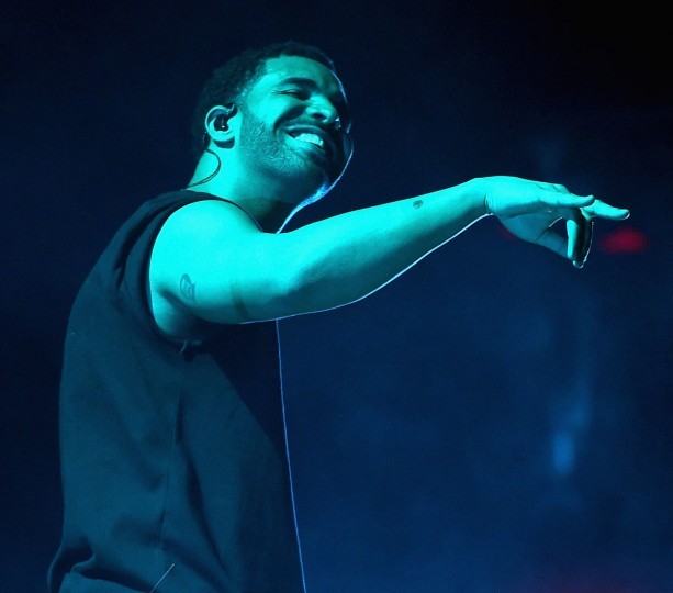 Rapper Drake performs onstage during day 3 of the 2015 Coachella Valley Music & Arts Festival (Weekend 1) at the Empire Polo Club on April 12, 2015 in Indio, California. (Photo by Kevin Winter/Getty Images for Coachella)