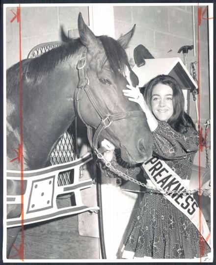 Janet Davenport Phillips, Miss Preakness 1970 (Baltimore Sun)