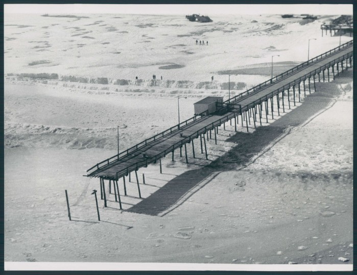 Winter in Ocean City, 1979.