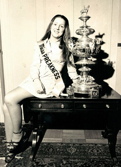 Miss Preakness 1973 - Mary Stewart Kelly, a Johns Hopkins University freshman from Baltimore. (Walter M. Ball/Baltimore Sun)
