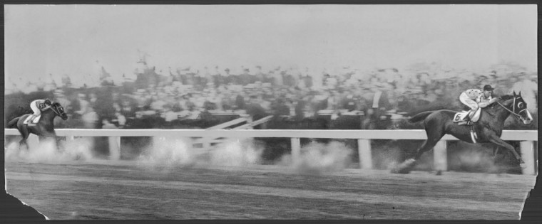 Preakness in the 1930's. (Baltimore Sun archives)