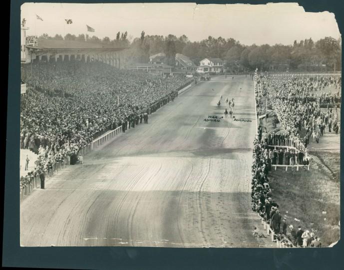Preakness 1937. (Baltimore Sun archives)