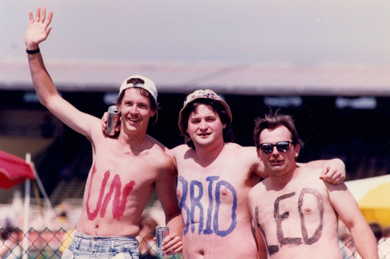 The infield, 1990. (Kenneth Lam/Baltimore Sun)