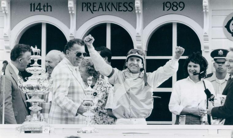 Preakness winner in 1989. (Amy Davis/Baltimore Sun)