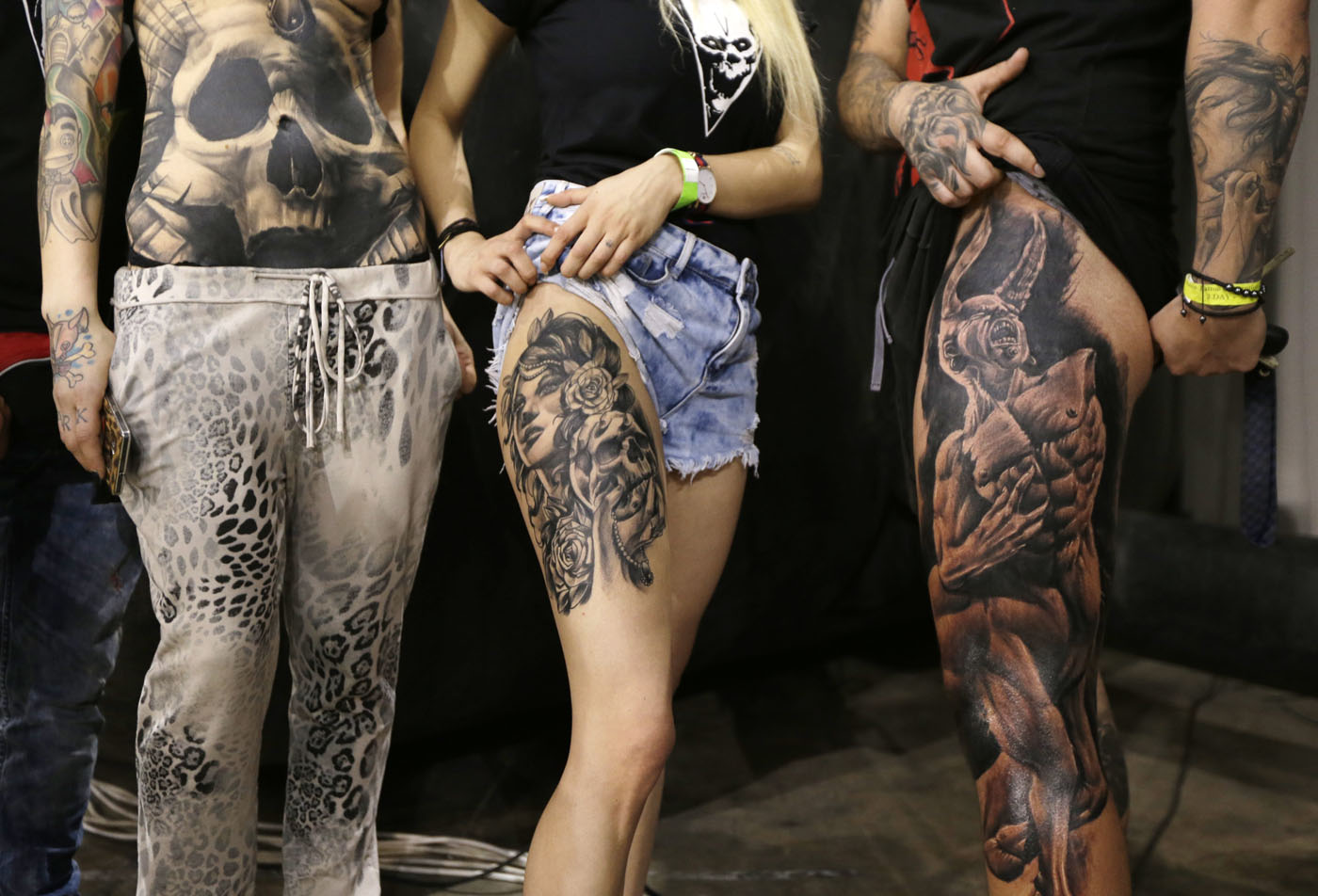 Tattoo Convention The Three Day Event Attracted Thousands Of Visitors