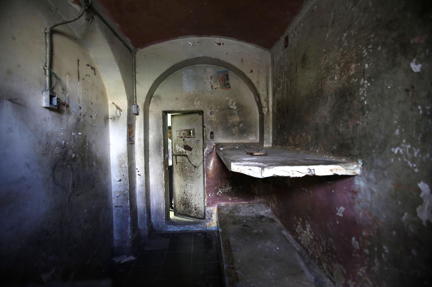 abandoned prison in ecuador bears signs of past