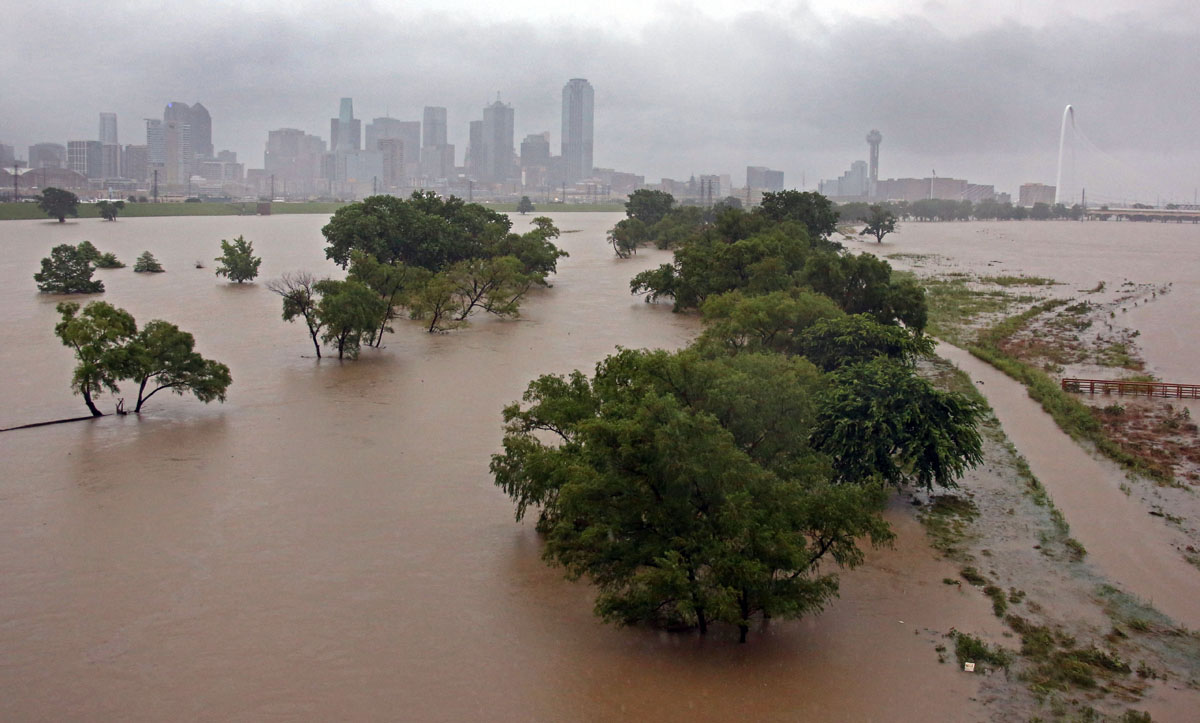 Texas is flooding