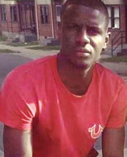 Freddie Gray is seen in an undated family photo.