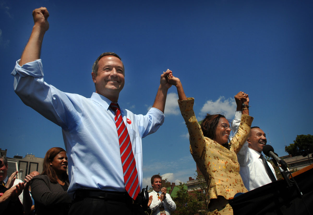 From the vault: Martin O'Malley's quest for the White House