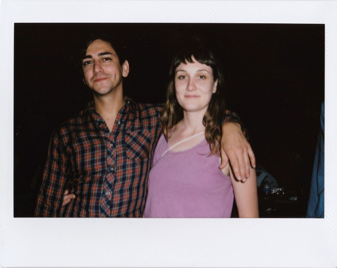 "Michael Arcos (director) and Marnie Ellen (producer) of ""Dream Throat."" Photos and text by Jen Mizgata, a Baltimore-based photographer, who can be reached at mizgata@gmail.com. See more of her work at jenmizphoto.com."