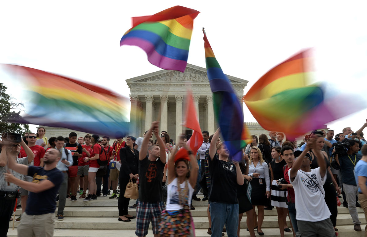 Nationwide celebrations for the SCOTUS decision on same-sex marriage