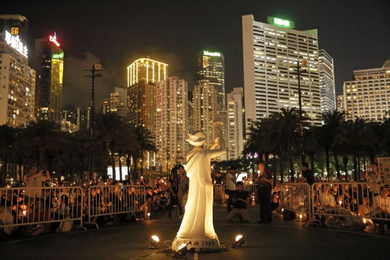 AP Hong Kong Tiananmen Anniversary
