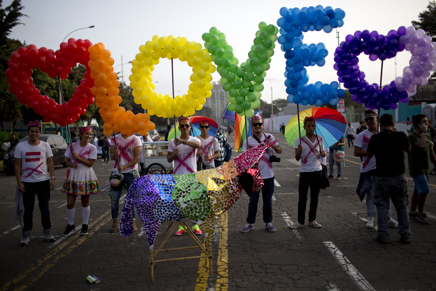 LGBT pride around the world