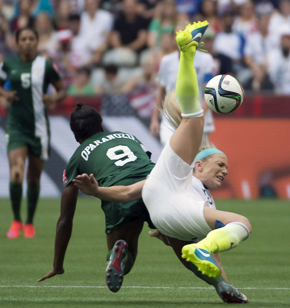 U.S. beats Nigeria 1-0 in Women's World Cup