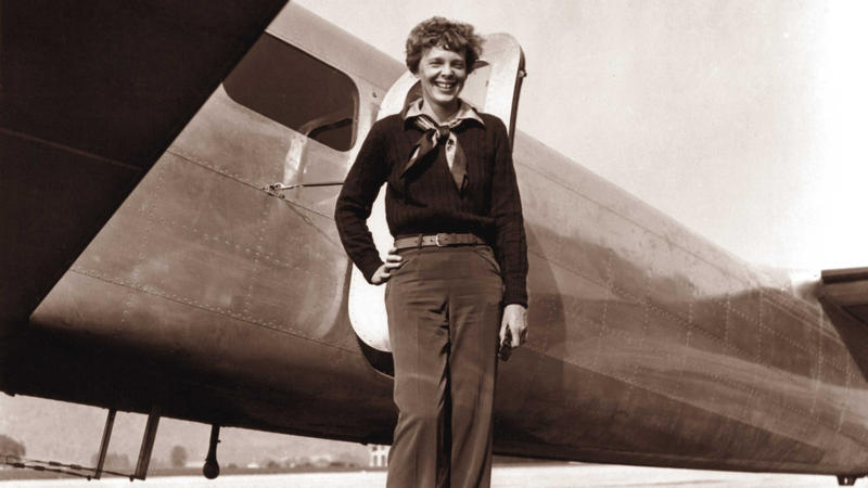Lost film taken at Amelia Earhart's final flight photo shoot surfaces